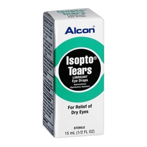 Alcon Isopto Lubricated Artificial Tears Dry Eye Drops - Artificial Tears - Mountainside Medical Equipment