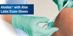 Buy Altolex Aloe Latex Gloves, Powder Free 100/Box, 10/Case online used to treat Latex Gloves - Medical Conditions