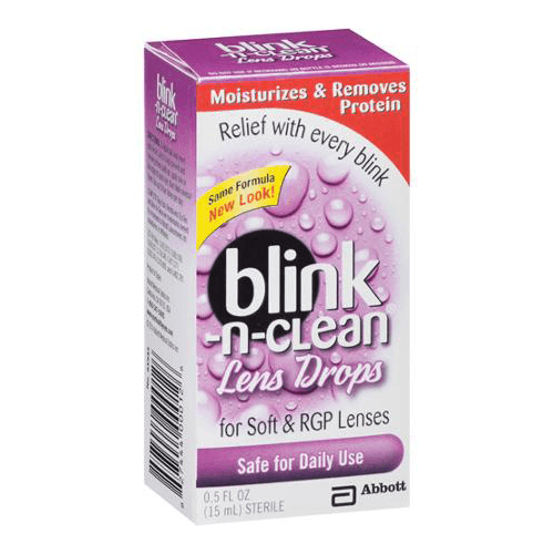Blink-N-Clean Contact Lenses Drops for Eye Health by Amo Sales | Medical Supplies