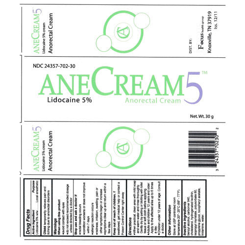 Anecream 5 Anorectal Rectal Pain Relief Cream - Hemorrhoidal Pain Relief Cream - Mountainside Medical Equipment
