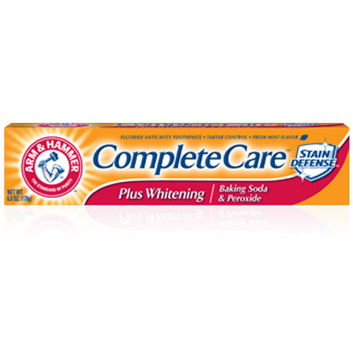 Buy Arm & Hammer Complete Care Plus Whitening Toothpaste with Baking Soda & Peroxide by Church & Dwight from a SDVOSB | Toothpaste