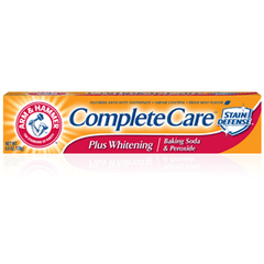 Buy Arm & Hammer Complete Care Plus Whitening Toothpaste with Baking Soda & Peroxide online used to treat Toothpaste - Medical Conditions