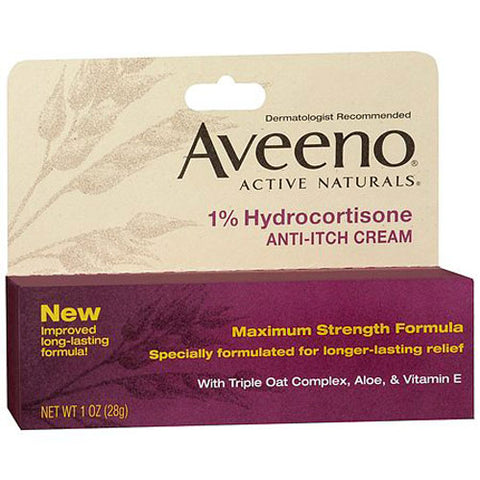 Aveeno Anti Itch Hydrocortisone Cream 1%