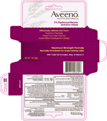 Buy Aveeno Anti Itch Hydrocortisone Cream 1% online used to treat Anti-Itch Relief Cream - Medical Conditions