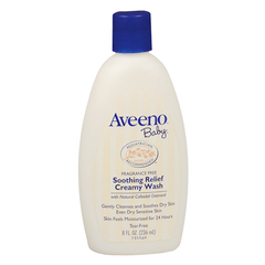 Buy Aveeno Baby Soothing Relief Creamy Wash, Hypoallergenic online used to treat Dry Skin - Medical Conditions