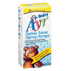 Buy Ayr Baby Saline Nose Spray/Drops, 30ml by Ayr | Mountainside Medical Equipment