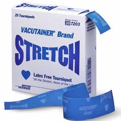 Buy BD Vacutainer Stretchable Medical Tourniquets 25/Box online used to treat Medical Tourniquet - Medical Conditions