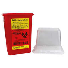 BD 305487 Sharps Container, Dual Access 1.5 Quart for Sharps Containers by BD | Medical Supplies