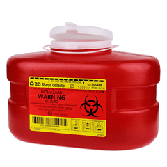 Buy BD 305488 Sharps Collector 3.3 Quart by BD online | Mountainside Medical Equipment