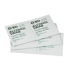 Buy BD Alcohol Swabs (Prep Pads) 100/Box by BD | SDVOSB - Mountainside Medical Equipment