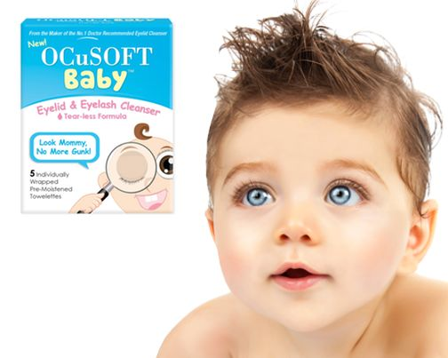 Buy OcuSoft Baby Eyelid and Eyelash Cleansing Wipes online used to treat Baby Eye Lid Cleansing Wipes - Medical Conditions