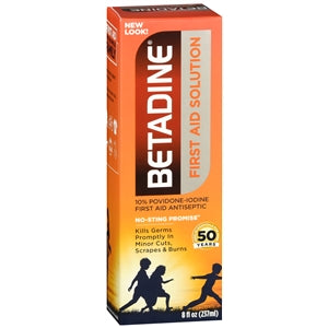 Betadine Antiseptic Skin Cleanser Povidone-Iodine Solution