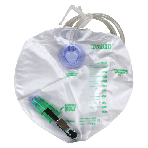 Bard Infection Control Urinary Drainage Bag 2000 ml for Drainage Bags and Leg Bags by Bard Medical | Medical Supplies