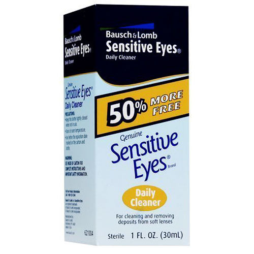 Bausch and Lomb Sensitive Eyes Daily Cleaner - Contact Lens Cleaner - Mountainside Medical Equipment