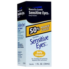 Buy Bausch and Lomb Sensitive Eyes Daily Cleaner online used to treat Contact Lens Cleaner - Medical Conditions