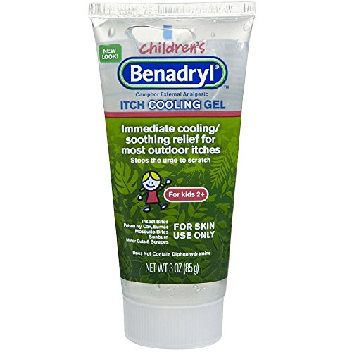 Benadryl Anti Itch Cooling Gel for Kids 3 oz