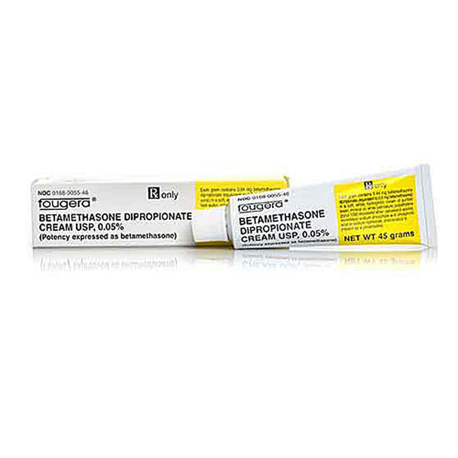 Buy Betamethasone Dipropionate Cream 0.5% By Fougera 15 grams online used to treat Topical Corticosteroid - Medical Conditions