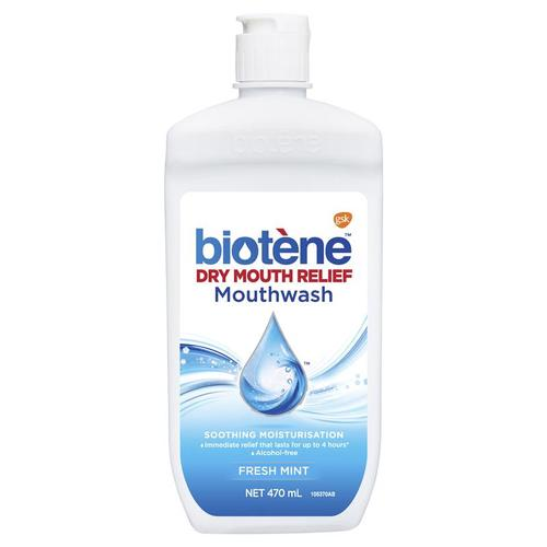 Biotene Dry Mouth Moisturizing Oral Rinse Mouthwash 16oz - Dry Mouth Treatment - Mountainside Medical Equipment