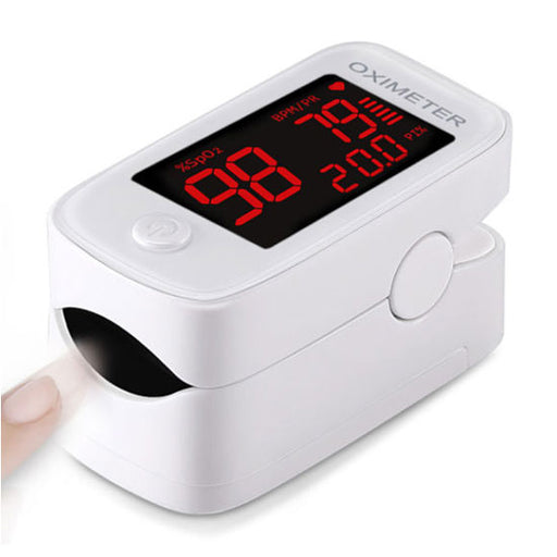 Digital Fingertip Pulse Oximeter with Large LCD Screen - Finger Pulse Oximeter - Mountainside Medical Equipment