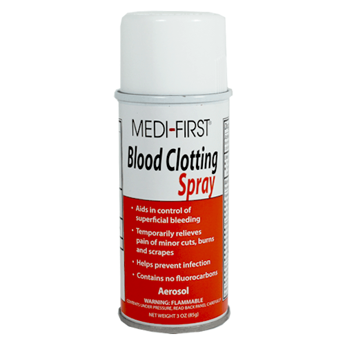 First Aid Blood Clotting Spray - First Aid Supplies - Mountainside Medical Equipment