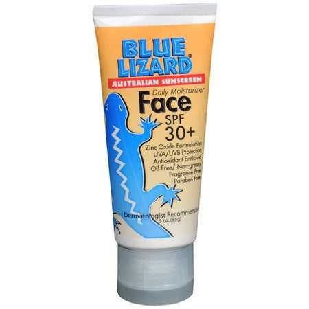 Buy Blue Lizard Australian Face Sunscreen SPF 30 online used to treat Sunburn - Medical Conditions