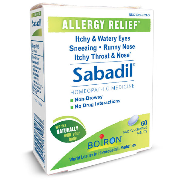 Buy Boiron Sabadil Allergy Relief Medicine, 60 Tablets online used to treat Allergy Relief Medicine - Medical Conditions