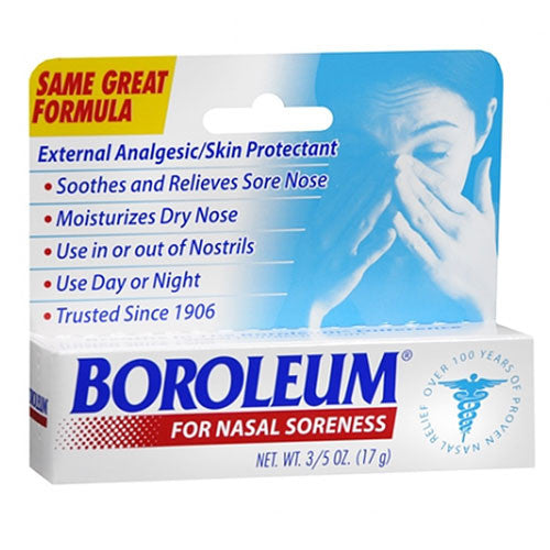 Boroleum Ointment for Dry Nasal Soreness