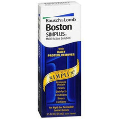 Buy Boston Multi-Action Simplus Contact Lens Solution online used to treat Eye Health - Medical Conditions