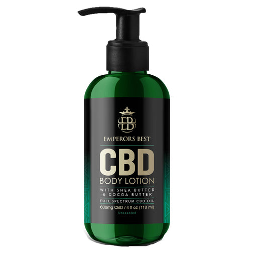 CBD 600mg Full Spectrum  Body Lotion with MCT Oil, Cocoa Butter, Shea Butter, 4 oz