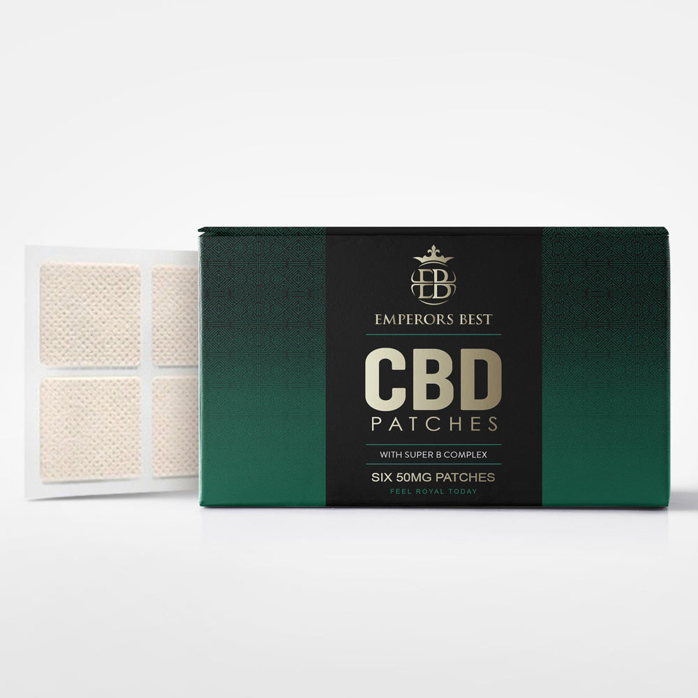 CBD 50mg Skin Patches with Vitamin B Complex, 6/Pack