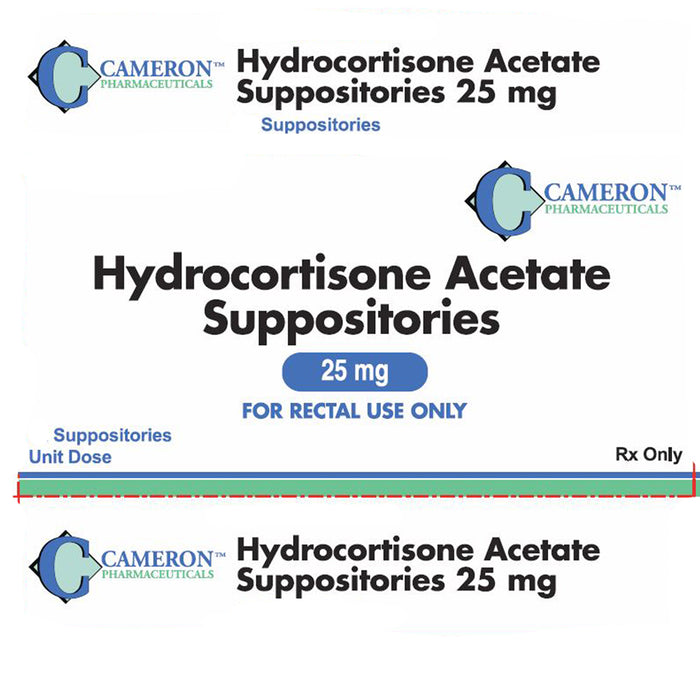 Buy Cameron Hydrocortisone Acetate Suppositories 25 mg, 24/Box online used to treat Hemorrhoid Relief - Medical Conditions
