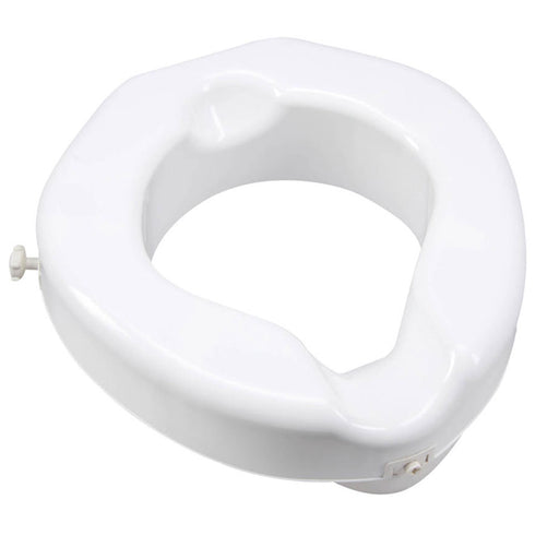 Buy Carex Raised Toilet Seat with Safe Lock Base, 500 LBS Capacity online used to treat Raised Toilet Seat - Medical Conditions