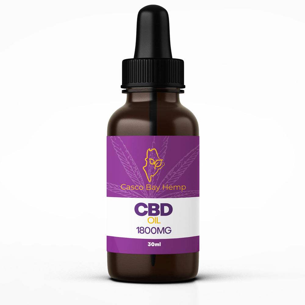 1800 mg CBD Oil Tincture Extra Strength, Lemon Flavored, Processed with (CO2)