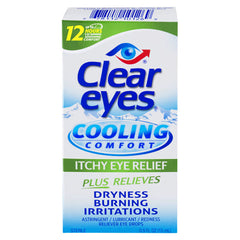 Buy Clear Eyes Cool Comfort Itchy Dry Eye Relief Drops online used to treat Itchy Eye Relief Drops - Medical Conditions