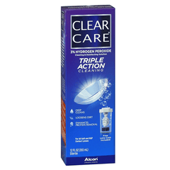 Clear Care Triple Action Contact Lens Disinfecting Solution for Eye Health by Alcon Laboratories | Medical Supplies