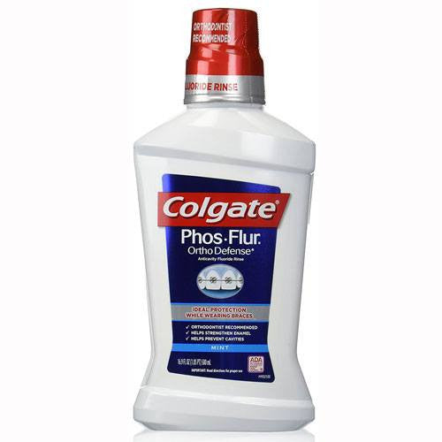 Coalgate Phos‑Flur Anticavity Dental Rinse, Mint 16 fl oz