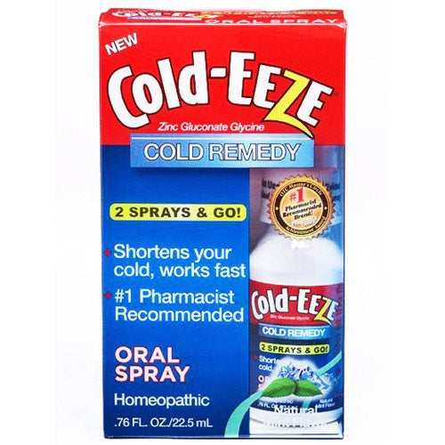 Cold EEZE Cold Remedy Oral Spray Cherry Flavor