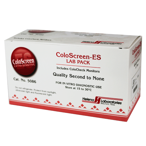 Buy ColoScreen ES Lab Pack Fecal Occult Tests online used to treat Fecal Occult Stool Tests - Medical Conditions