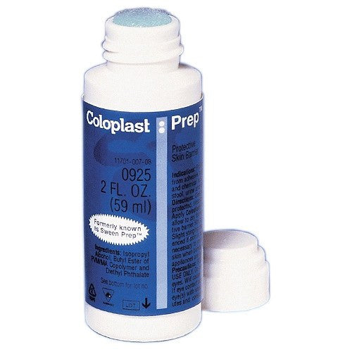 Buy Coloplast Prep Protective Liquid Skin Barrier 2 oz online used to treat Prep Pads and Swabsticks - Medical Conditions