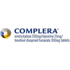 Buy Complera 200-25-300mg Tablets HIV Treatment Medicine online used to treat HIV Treatment - Medical Conditions