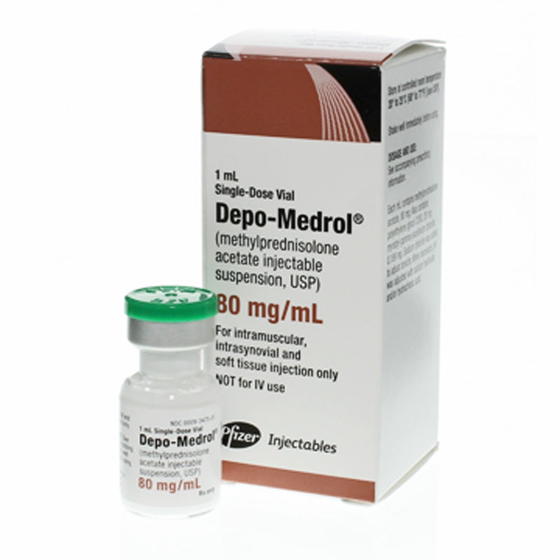 Buy Depo-Medrol for Injection 80 mg, 1 mL online used to treat Anti-Inflammatory Injection - Medical Conditions