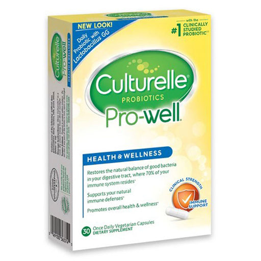 Culturelle Health and Wellness Probiotic with 15 Billion Cells - Probiotic - Mountainside Medical Equipment