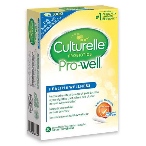 Culturelle Health and Wellness Probiotic with 15 Billion Cells