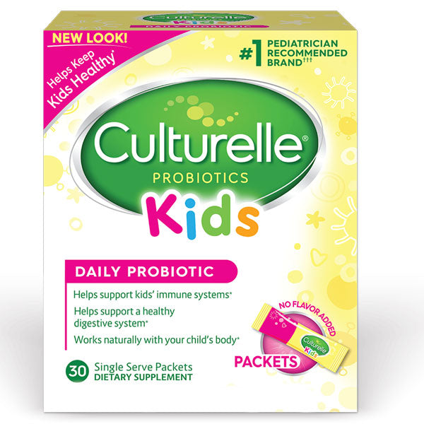 Culturelle Kids Daily Probiotic Packets with Lactobacillus GG