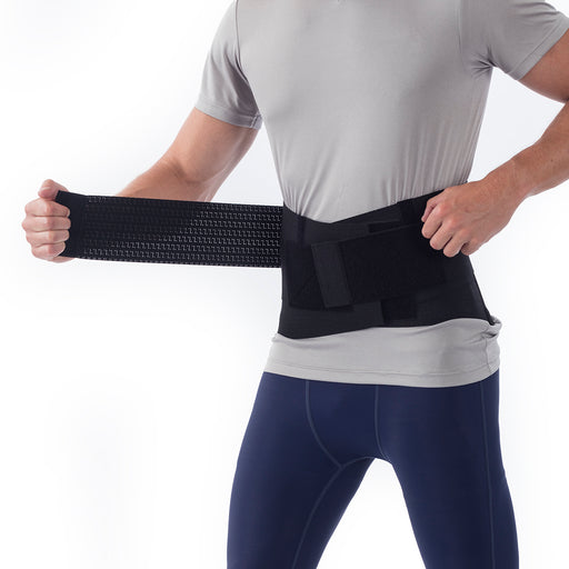North Deluxe Ventilated Elastic Back Belt Support - Back Support - Mountainside Medical Equipment