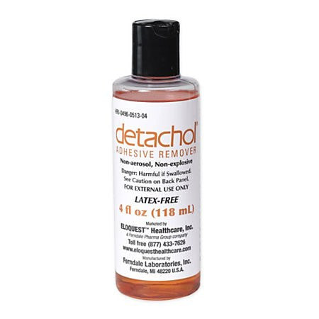 Detachol Adhesive Remover 4 oz for Adhesive Bandages by Ferndale Laboratories | Medical Supplies