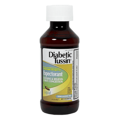 Buy Diabetic Tussin Sugar Free Cough Syrup online used to treat Diabetes Supplies - Medical Conditions