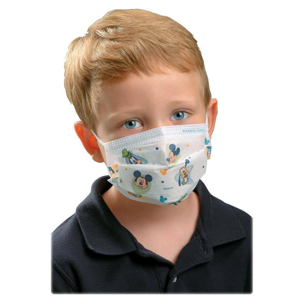 75 Childrens Protective Face Masks with Ties