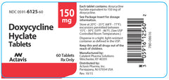 Doxycycline Hyclate 150 mg Capsules by Watson