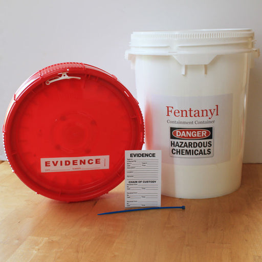 Chemical and Drug Containment and Transport Container 5 Gallon Bucket - Chemical Containment Container - Mountainside Medical Equipment